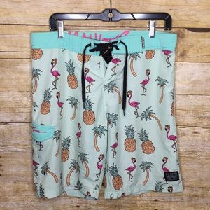Maui and Sons board shorts 32w